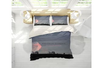 3D Band Radiohead Quilt Cover Set Bedding Set Pillowcases 75-Queen