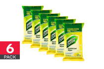 270 Pine O Cleen Surface Wipes - Lemon Lime Burst (6 x 45 Pack)