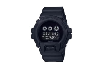 Casio G-Shock Digital Blackout Watch with Resin Band - Black (DW6900BBA-1D)