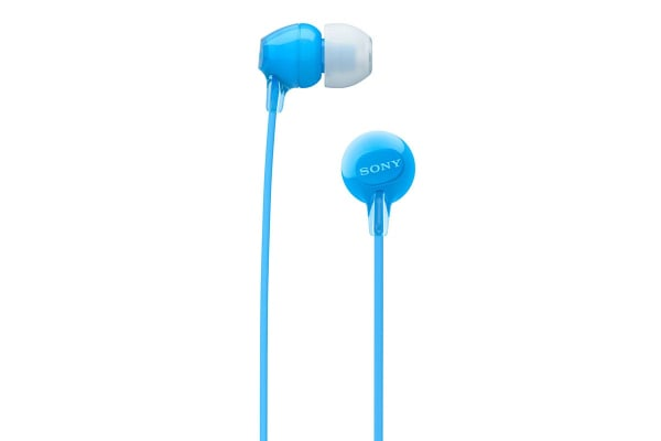 Sony Entry In-Ear Headphone with Bluetooth - Blue (WIC300L)
