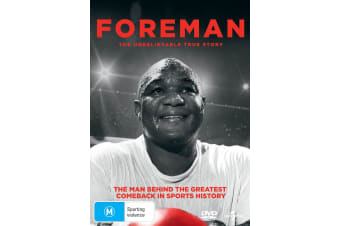 George Foreman The Resurrection DVD Region 4