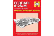 Ferrari 512 S/M - 1970 Onwards (All Marks)