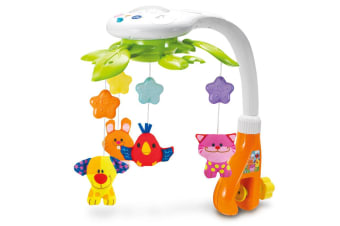 Animal Dreams Baby Mobile with Lights and Sounds