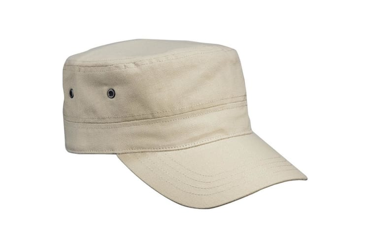 Myrtle Beach Childrens/Kids Military Cap (Khaki) (One Size)