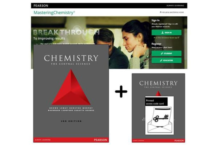 Value Pack Chemistry - The Central Science + MasteringChemistry with eText
