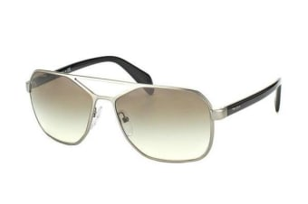 Prada PR54RS 60mm - Matte Gunmetal (Light Grey Gradient lens) Mens Sunglasses