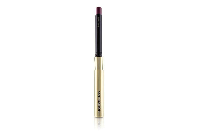 HourGlass Confession Ultra Slim High Intensity Refillable Lipstick - # One Time (Aubergine) 0.9g/0.03oz