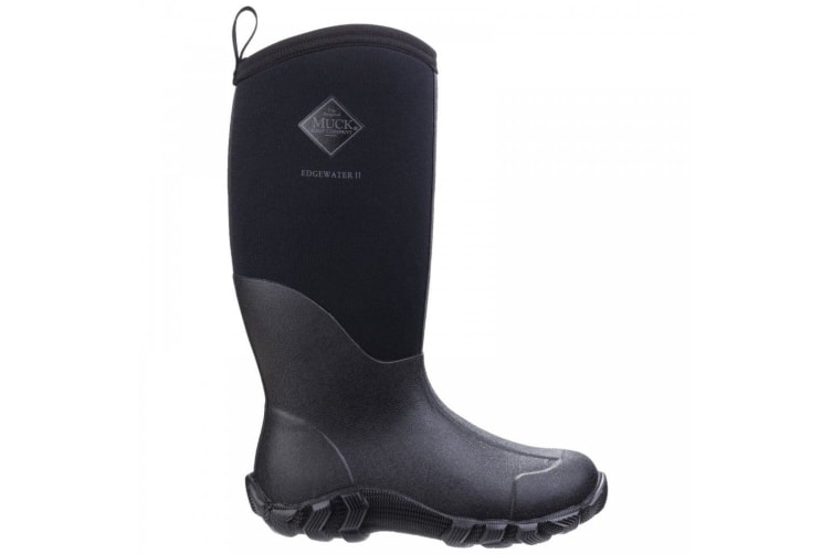 Muck Boots Unisex Edgewater II Multi-Purpose Boot (Black) (7 UK)