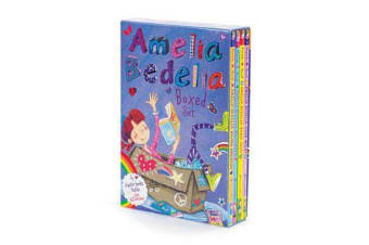 Amelia Bedelia Chapter Book Box Set - Books 1-4