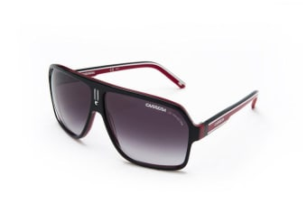 Carrera27 XAV Black Red White Mens Sunglasses