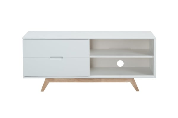 Etonnant Tauris Nova 1200mm TV Cabinet   White