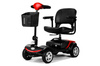 EQUIPMED Mobility Scooter Electric Motorised Power Portable 4 Wheel Folding