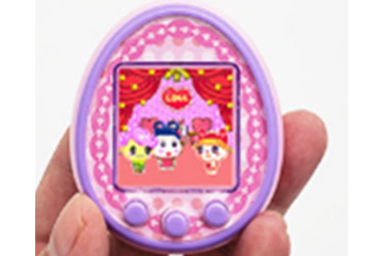 Select Mall 1.5 Inches LCD Screen Handheld Game for Kids Portable Video Game Player Built-in 12 Classic Games Birthday Present for Children-Pink