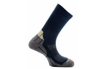 Horizon Unisex Coolmax Hiker Socks (Teal/Grey/Cream)