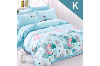 King Size Dream On Design Quilt Cover Set