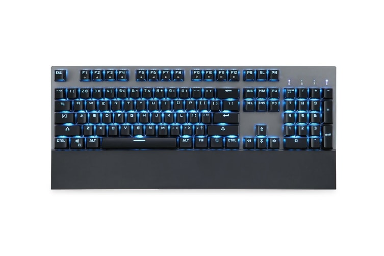 Kogan Wireless Mechanical Keyboard with LED Backlight (Blue Switch)