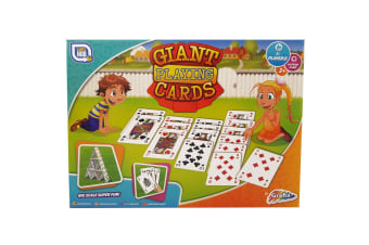 Grafix Giant Playing Cards Outdoor Game Kit