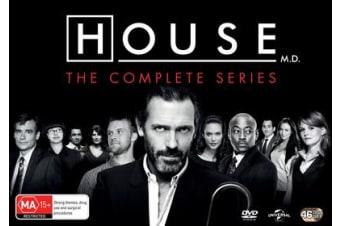 House The Complete Seasons 1-8 DVD Region 4