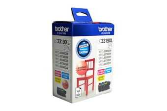 Brother LC3319XL Ink Cart - CMY Colour Pack