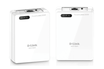 D-Link PowerLine AV2 2000 Gigabit Network Kit (DHP-701AV)