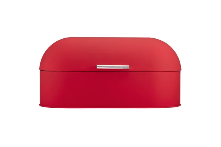 Ladelle Classic Soft Matt Bread Bin - Red