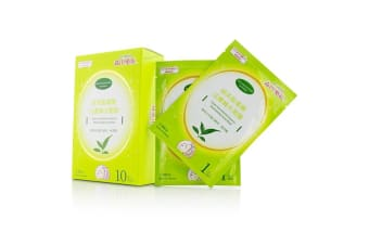 Dr. Morita Green Tea & Amino Essence Moisturizing Facial Mask 10pcs