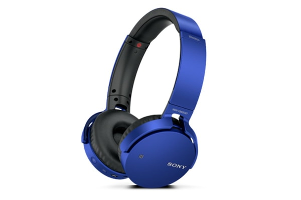 Sony Extra Bass Bluetooth Headphones - Blue (MDRXB650BTL)
