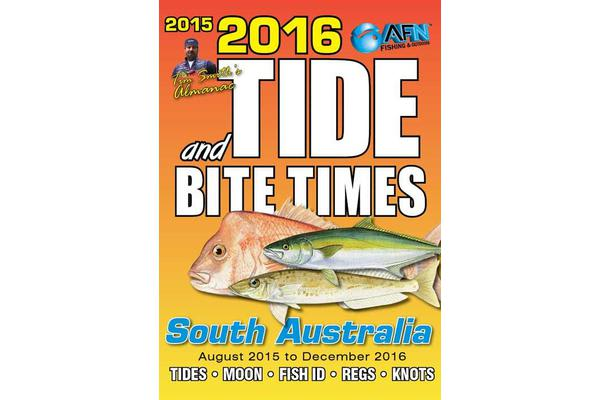 2016 Tide and Bite Times South Australia