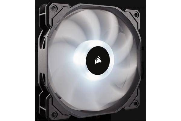Corsair Static Pressure 120mm RGB LED Fan, 3 PACK  with RGB Controller