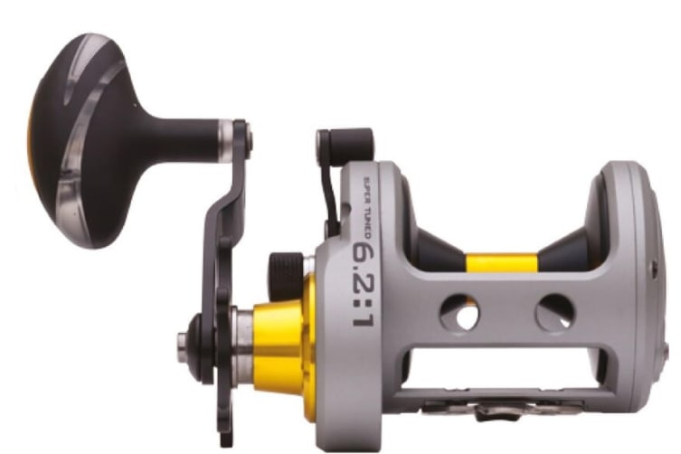 Fin-Nor Lethal Overhead Fishing Reel with Star Drag - 6 Stainless Steel Bearings [Model: LTC 30]