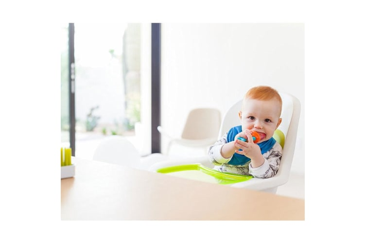 2PK Boon Pulp Silicone Feeder for Baby/Infant Puree Feeding/Weaning/Teething