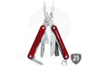 NEW LEATHERMAN SQUIRT PS4 RED 9IN1 MULTI-TOOL MULTITOOL SCISSORS KNIFE PLIERS