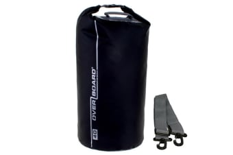 Overboard 40 Litre Dry Tube Black