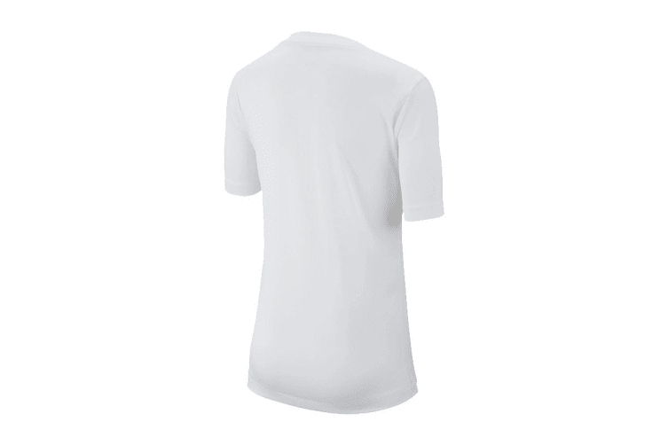 Nike Boys' Trophy Graphics Tees (White, Size L)