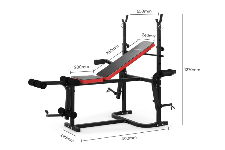 Fortis 7-in-1 Weight Bench Multi-Station