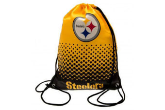 NFL Pittsburgh Steelers Official Fade Gym Bag (Yellow/Black) (One Size)