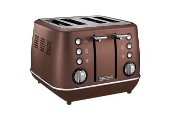 Morphy Richards Evoke 4-Slice Toaster - Bronze (240101)