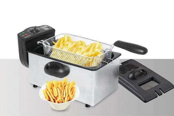 Maxim 3.5L Stainless Steel Deep Fryer (MDF35S)