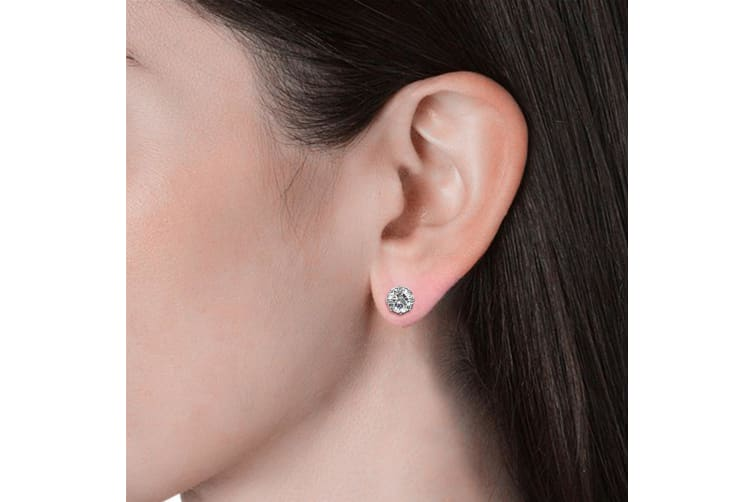 Beatrice Spark Earrings Embellished with Swarovski crystals