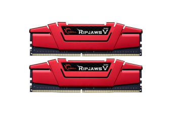 G.SKILL Ripjaws V Series Red DDR4 Desktop Memory 2666Mhz  (2 x 8GB) 16GB RAM CL19 1.2v