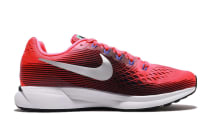 Nike Women's Air Zoom Pegasus 34 Running Shoe (Solar Red/Metallic Silver/Black)