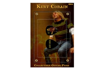 Kurt Cobain Guitar Pick #1 (Red Sweater)