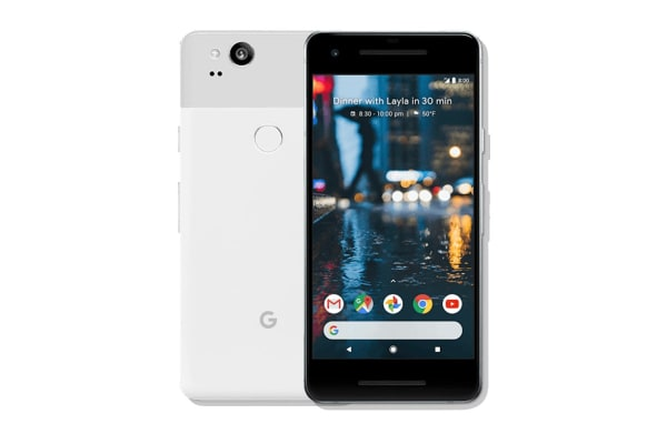 Google Pixel 2 (128GB, Clearly White)