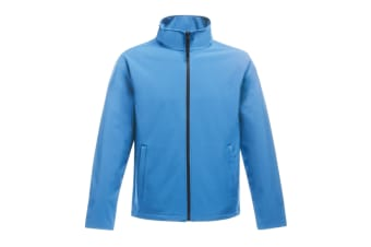 Regatta Womens/Ladies Ablaze Printable Softshell Jacket (French Blue/Navy) (10 UK)