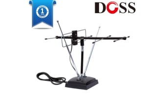 Doss VHF UHF Indoor TV Antenna New