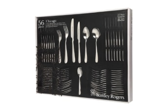 Stanley Rogers 56 Piece Chicago Cutlery Gift Boxed Set