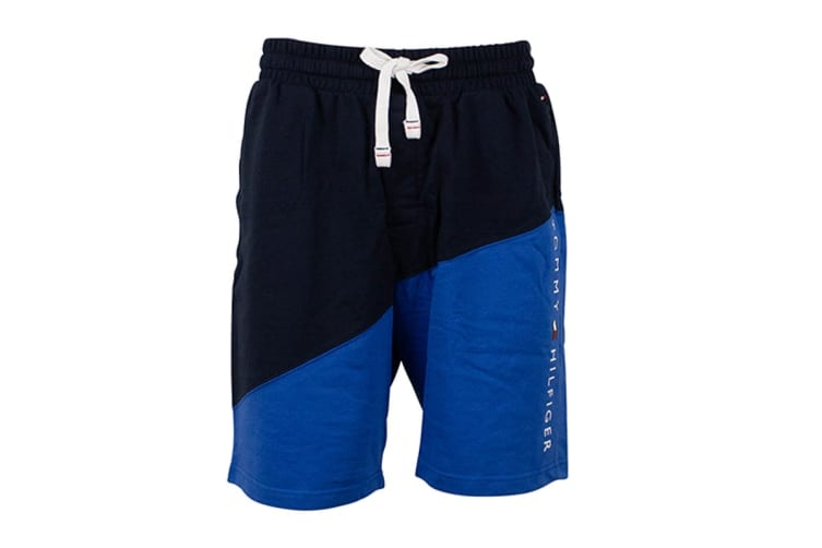 Tommy Hilfiger Men's Modern Essentials Shorts (Hampton Blue, Size L)