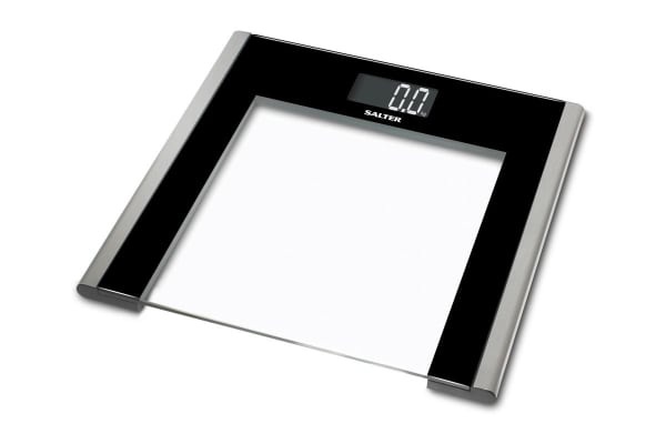 Buy Salter Ultra Slim Glass Electronic Bathroom Scales White
