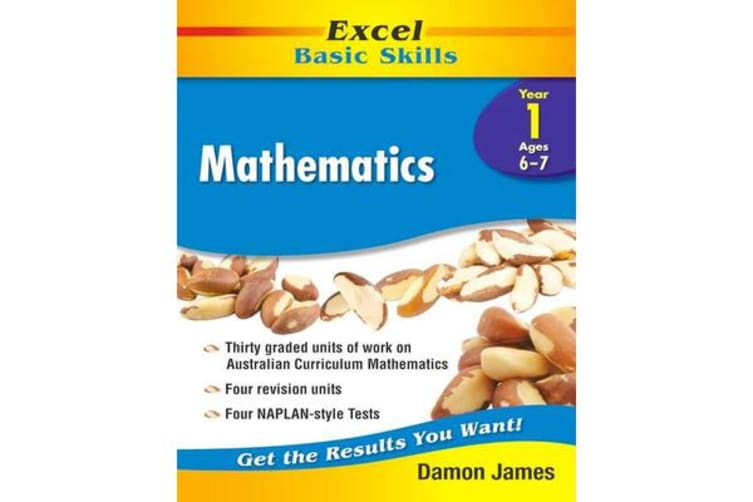 Excel Basic Skills Core Books - Mathematics Year 1
