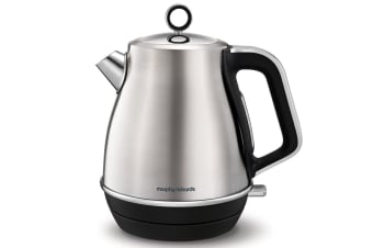 Morphy Richards 2200W Evoke 1.5L Jug Brushed Stainless Steel Electric Kettle